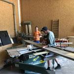 Material vorbereiten in der Tischlerei