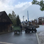 Mülldienst mit Polaris Sportsman ACE