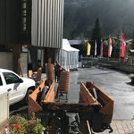 Stuhltransport Kirche - sport.park.lech