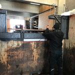 Schneecontainer für Unimog 530 aufbauen