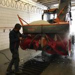 Rolba 1500, Reinigung für Service am Bauhof