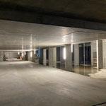 Montage Baubeleuchtung Gemeindezentrum Untergeschoss 1