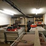 Inventurliste erstellen Bühnenteilelager für Weltcuprennen Zürs