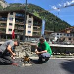 Beleuchtung Uferpromenade - Verkabelung fertig machen