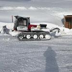 Winterwanderwegpräparierung Schlosskopfrunde, mit PB Paana