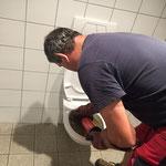 Fehlerbehebung Abwasser - Hebeanlage Rüfigarage -  Toilettenanlage