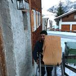Preisjassen Zug: Stühle und Mülltonne zustellen Pfarrhöfle