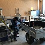 Neue Wege-Hänger für Grillholz- und Werkzeugtransporte modifizieren