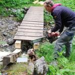 Rudtobelbrücke Lechweg reparieren