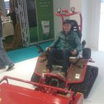 Besuch Interalpin Messe Innsbruck, Testen neuer Geräte