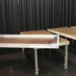 Rückbau Bühne Abschlusskonzert Musikschule in der Postgarage