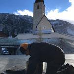 Schacht ausschmieren Postamt Lech