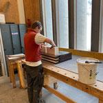 Arbeiten in der Tischlerei für Neue Mittelschule