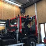 Reinigung U530 vor Servicetermin Werkstatt Imst