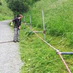 ...Burgwaldweg ausmähen