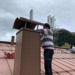 ...und Dachdeckarbeiten