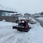 Snow Rabbit 3, Wegepräparierung Winterwanderweg Zürs-Lech