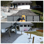 Bauarbeiten Waldbad Lech