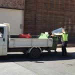 Freitag-Mülldienst