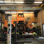 Kleinere Reparaturarbeiten an der Rolba 600