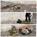 Deponie Stubenbach: Splitt/Erde/Gras/Blätter abladen ab sofort erlaubt, ABER bitte OHNE Müll!