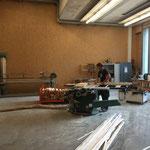 Brennholz schneiden für Grillplätze