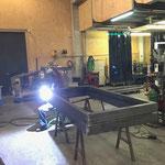 Grüner Ring Projekt Türen: Schweißarbeiten für Nachbau Rahmen