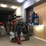Lawinenschutztor Bauhof, Verspannungen lösen für bessere Gängigkeit