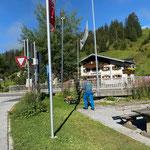 Rasenpflege Schlosskopfumkehrplatz...