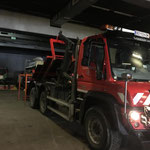 Salzstreuer von U530 - Plattform abbauen...