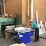 Haus des Kindes: Umbauarbeiten Dachboden - Vorbereitungen in der Tischlerei
