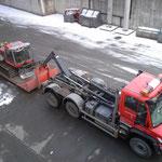 Drittleistung: Paanatransport nach Oberlech - Verbindungsweg Kriegerhorn/Petersboden herstellen