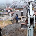Geländer montieren
