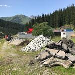Aufräumen rund um das Bauhofareal