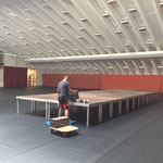 Bühnenbau für Medicinicum Lech, Sportpark