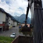 Drittleistung: Grünschnitt laden in Stubenbach