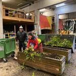 Blumenmanagement am Bauhof