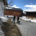 Ortsverschönerung rund um den Gemeindestall
