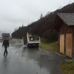 Einwinterung Buswartehäuser und WC-Anlagen Spullersee/Formarinsee