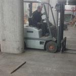 Bauhof Garage aufräumen und reinigen