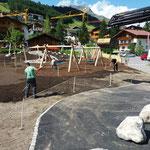 Spielplatz sport.park: Humusieren