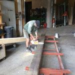 Rinnenbau in der Tischlerei