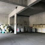 Müllsammelstelle aufräumen am Bauhof