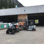 Grillholz laden auf Polaris Sportsman ACE für Grillplätze