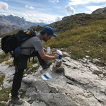 Wegebau samt Markierung zur Juppenspitze 2.412m