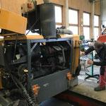 Service und Reparaturarbeiten Fräsmotor Lader 509