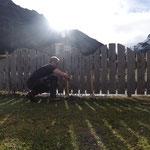 Bäume und Sträucher einbinden, Spielplatz sport.park.lech