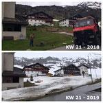 Rückblick KW 21 - 2018: Schlüsselblumen sind heuer noch keine zu sehen!