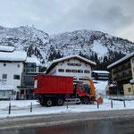 Schneedepot Rüfiplatz leeren, mit U530