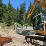 Projekt Zuger Säge: Baufortschritte